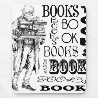 Sr. Books Mouse Pads
