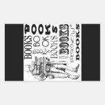 Sr. Books Pegatinas
