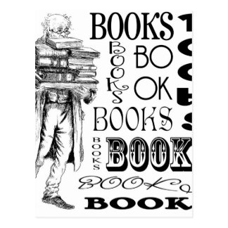 Sr. Books Tarjeta Postal