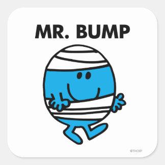Sr. Bump Classic 1 Pegatina Cuadrada