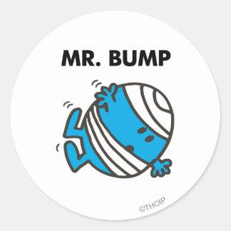 Sr. Bump Classic 3 Pegatina Redonda