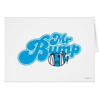 Sr. Bump Logo 1 Tarjeta De Felicitación