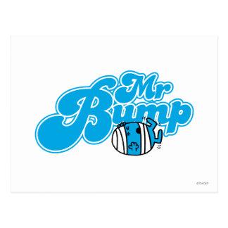 Sr. Bump Logo 1 Tarjetas Postales