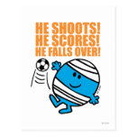 Sr. Bump Playing Soccer Postales