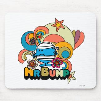 Sr. Bump Swirl Color Alfombrillas De Raton
