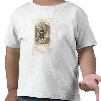 Sr C Kean como Gloster escena 1 del acto I en Camiseta