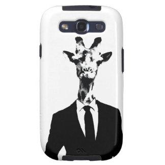 Sr. caja de la galaxia S3 de Samsung de la jirafa Samsung Galaxy S3 Carcasas