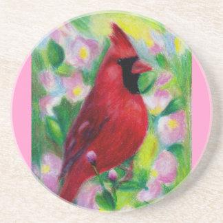 Sr. Cardinal Coaster Posavasos Personalizados