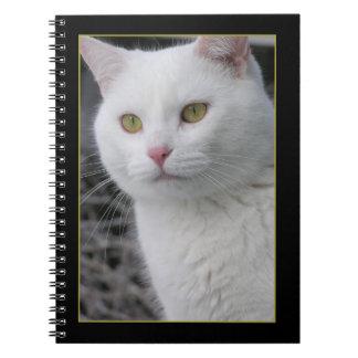 Sr. Cat Portrait Notebook
