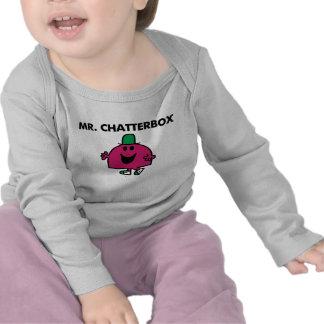 Sr. Chatterbox Classic Camisetas