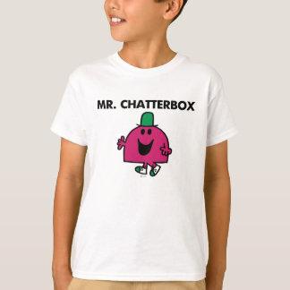 Sr. Chatterbox Waving Hello Playera
