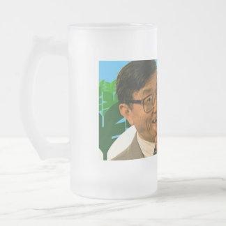Sr. Cheeky Chappie Glass Mug del Banzai Jarra De Cerveza Esmerilada