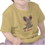 Sr. Cheesy Baby Camisetas