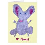 Sr. Cheesy Tarjeta