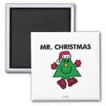 Sr. Christmas Classic Iman Para Frigorífico
