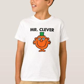 Sr. clásico Clever Logo Playera