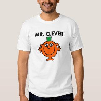 Sr. clásico Clever Logo Playeras