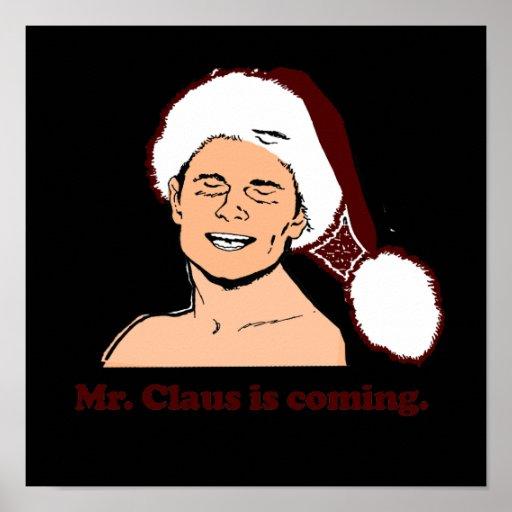 Sr. Clause está viniendo Impresiones