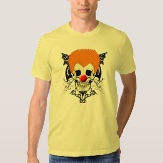 Sr. Clown Orange Hair Playera