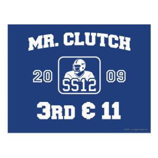 Sr. Clutch Postal