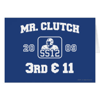 Sr. Clutch Tarjeta De Felicitación