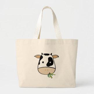 Sr. Cow Bolsas Lienzo