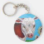 Sr. Cow Llaveros Personalizados