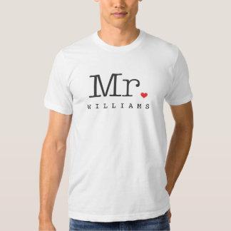 Sr. Custom Groom Shirt Camisas