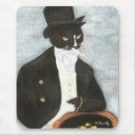Sr. Darcy Cat Mousepad Alfombrilla De Ratón