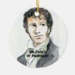 Sr. Darcy de Pemberley Ornaments Para Arbol De Navidad