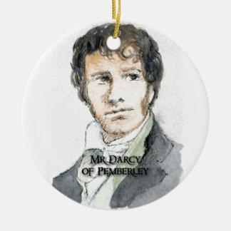 Sr Darcy de Pemberley Ornaments Para Arbol De Navidad