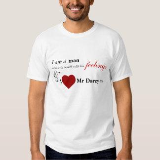 … Sr. Darcy del amor de I también Playeras