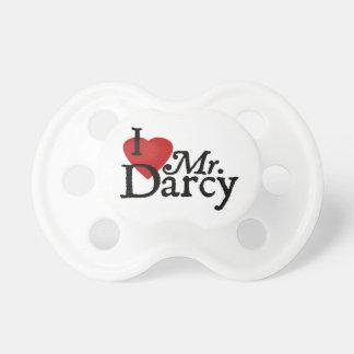 Sr. Darcy del AMOR de Jane Austen I Chupete De Bebe