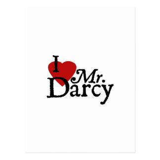 Sr. Darcy del AMOR de Jane Austen I Tarjetas Postales