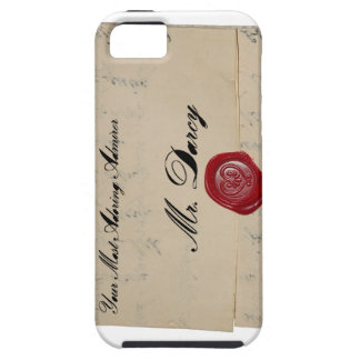 Sr. Darcy Regency Era Letter Funda Para iPhone SE/5/5s