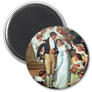 Sr. Darcy y yo imán del boda