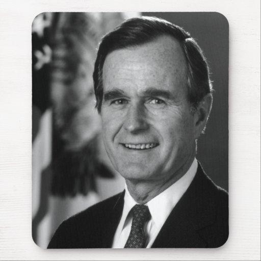 Sr. de George Bush Tapete De Ratón