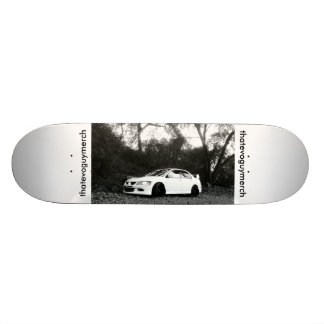 SR. de la evolución 8 de Mitsubishi Lancer Skateboard