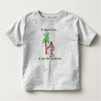 Sr. Destructo T-shirt Playera De Niño