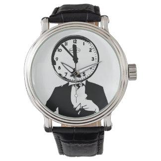 Sr. diseño del reloj de la cara de reloj