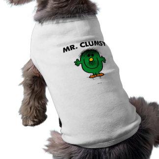Sr. Disheveled Clumsy Camiseta Sin Mangas Para Perro