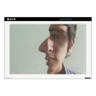 Sr. dos cara 43,2cm portátil calcomanía