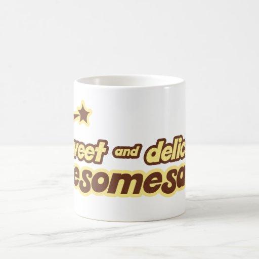 Sr. dulce y delicioso de Awesomesauce divertido Taza De Café