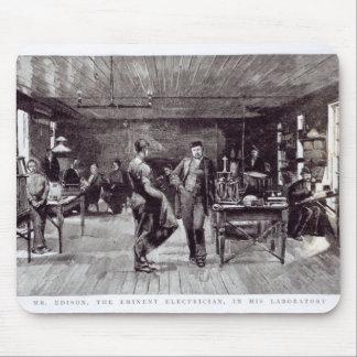 Sr. Edison, el electricista eminente Alfombrillas De Ratón