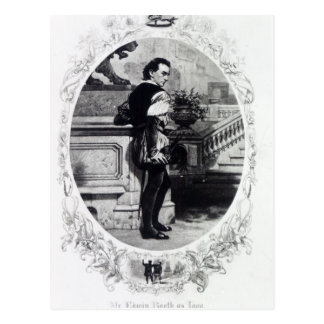 Sr. Edwin Booth como Iago Tarjetas Postales