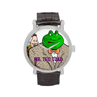 Sr. El reloj del sapo