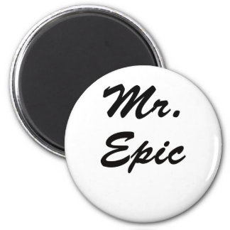 Sr. Epic Imán Redondo 5 Cm