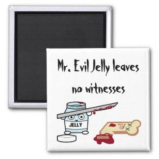 Sr. Evil Jelly Imán Para Frigorifico