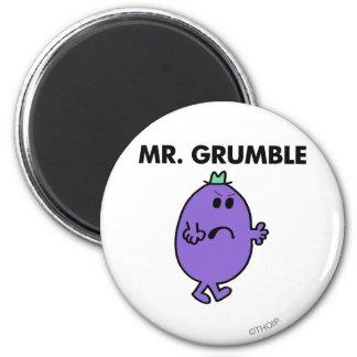 Sr. extremadamente infeliz Grumble Imán Redondo 5 Cm