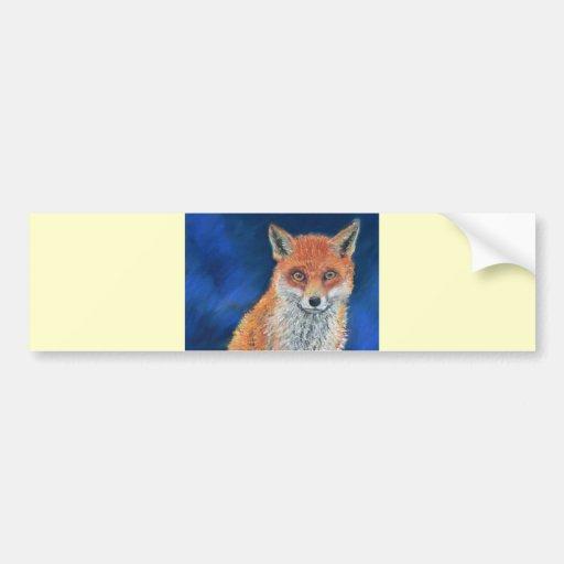 Sr. fantástico Fox Pegatina Para Auto